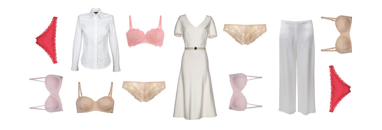 Vilka underkläder ska man ha under vita kläder? Dessa