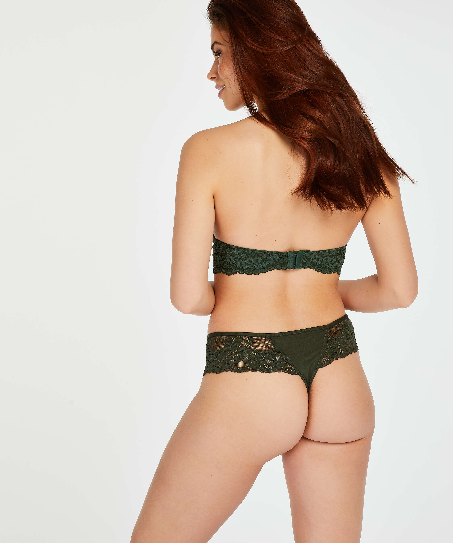 Boxerstringtrosa Nellie, grön, main