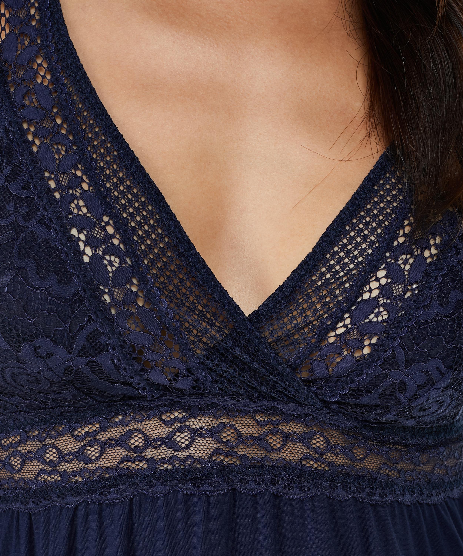 Underklänning Graphic Lace, blå, main