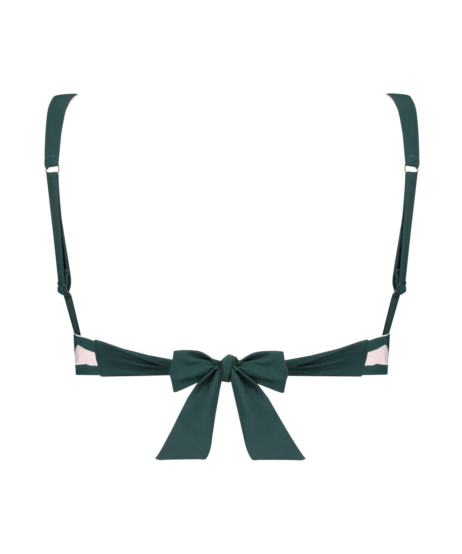 Triangel-bikiniöverdel Pinewood, grön, main