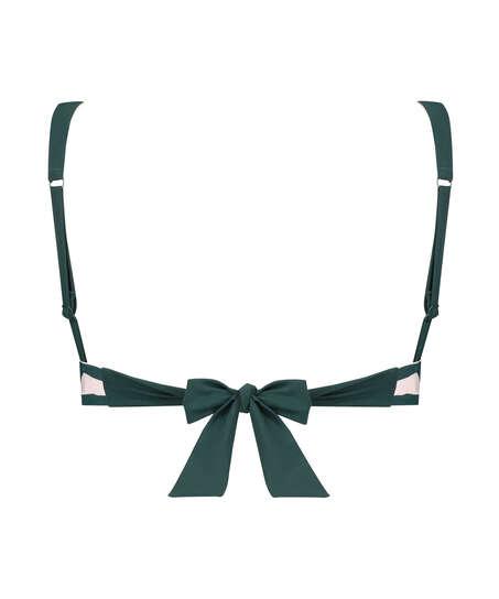Triangel-bikiniöverdel Pinewood, grön