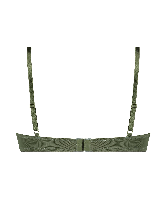 Formpressad bygel-bh Plunge, grön, main