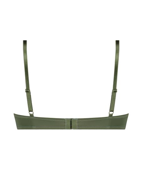 Formpressad bygel-bh Plunge, grön