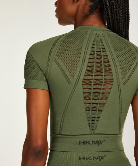 HKMX Karma Sömlös träningstanktopp, grön