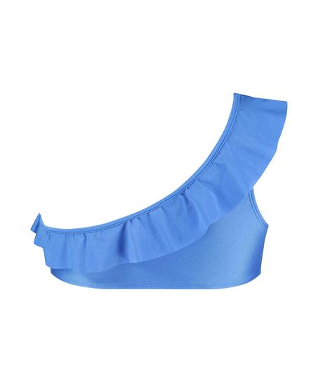Suze bikini-crop top, blå