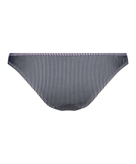 Rio bikiniunderdel Ruffle Stripe, blå