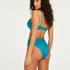 Celine formpressad bikiniöverdel med bygel, blå