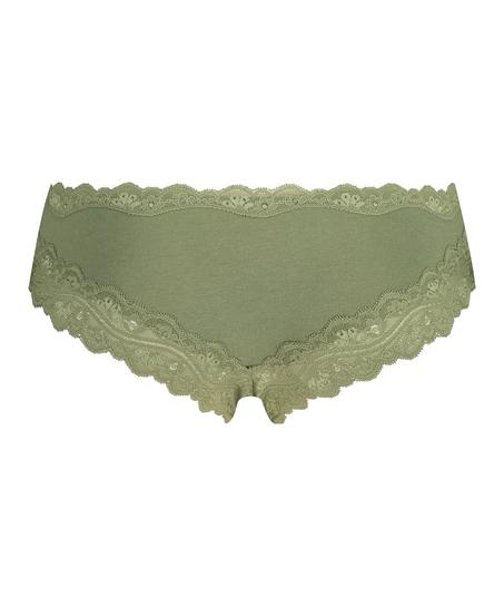 Brazilian-trosa i bomull, grön