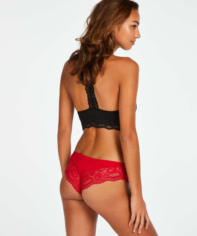 Valencia Brazilian Shorts, röd, main