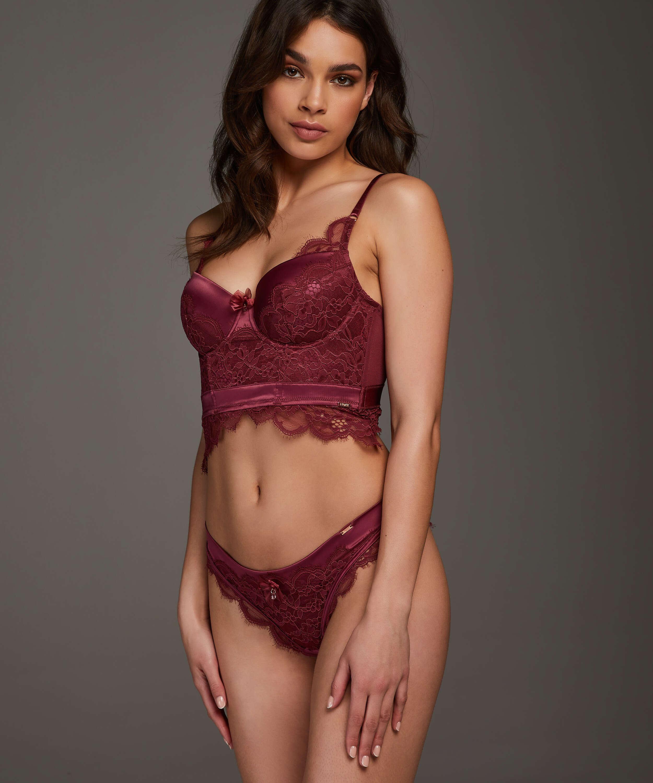 Brazilian-trosa Heather, röd, main