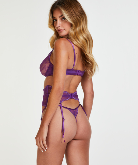 Isabelle strumebandshållare, Lila