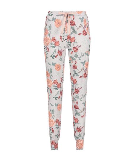 Tall Jersey Sage pyjamasbyxor, Grå