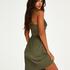 Nora Lace slipklänning, grön