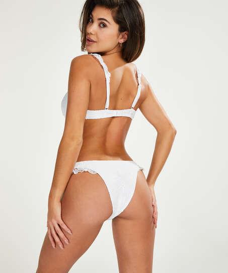 Bikini push-up Top Crochet, Vit