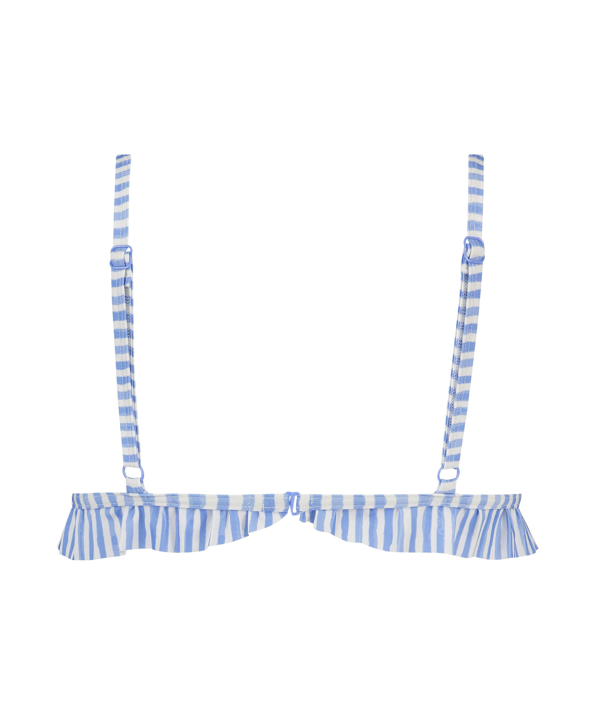 Julia triangel-bikiniöverdel, blå, main