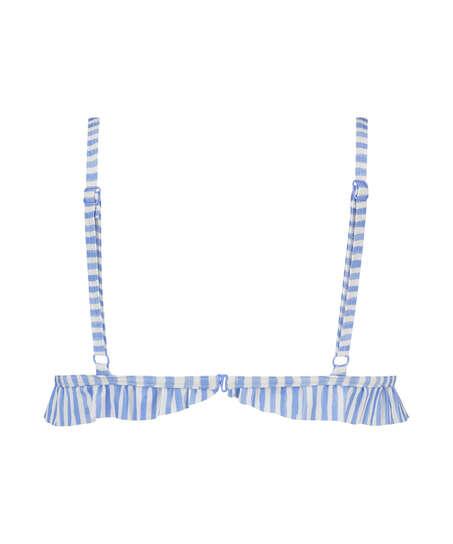 Julia triangel-bikiniöverdel, blå