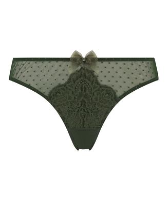 Kate stringtrosa, grön