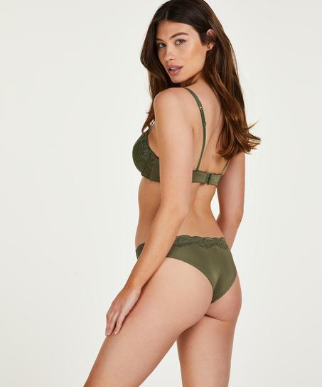 Marion brazilian-trosa, grön