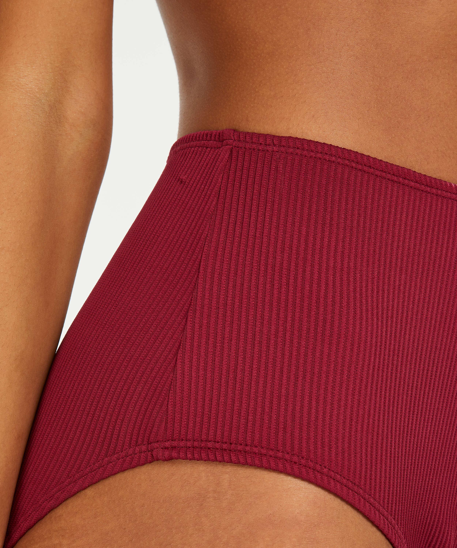 Golden Rings bikiniunderdel med höga ben, röd, main
