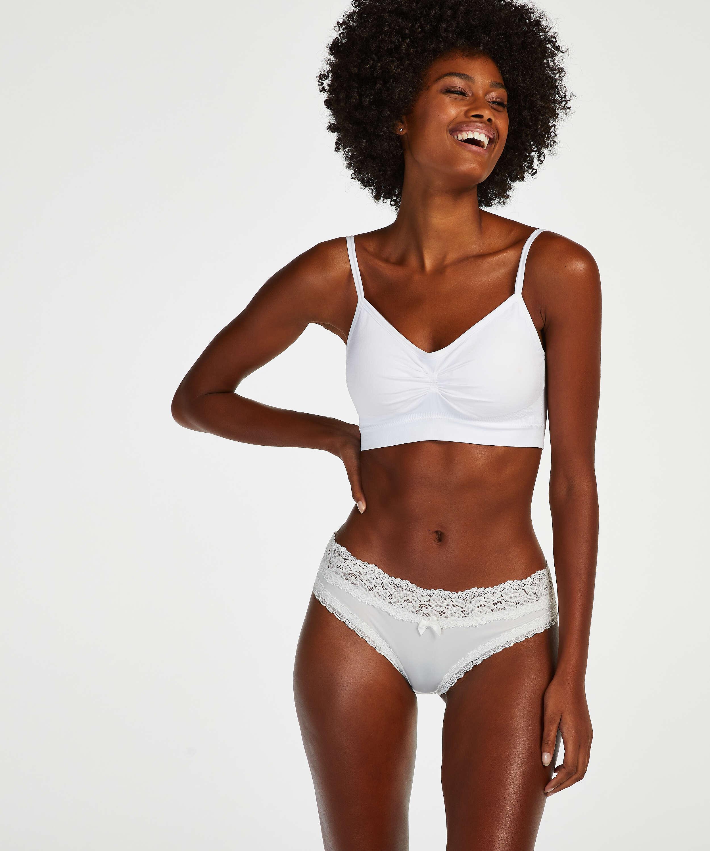 Dakota Brazilian Shorts, Vit, main