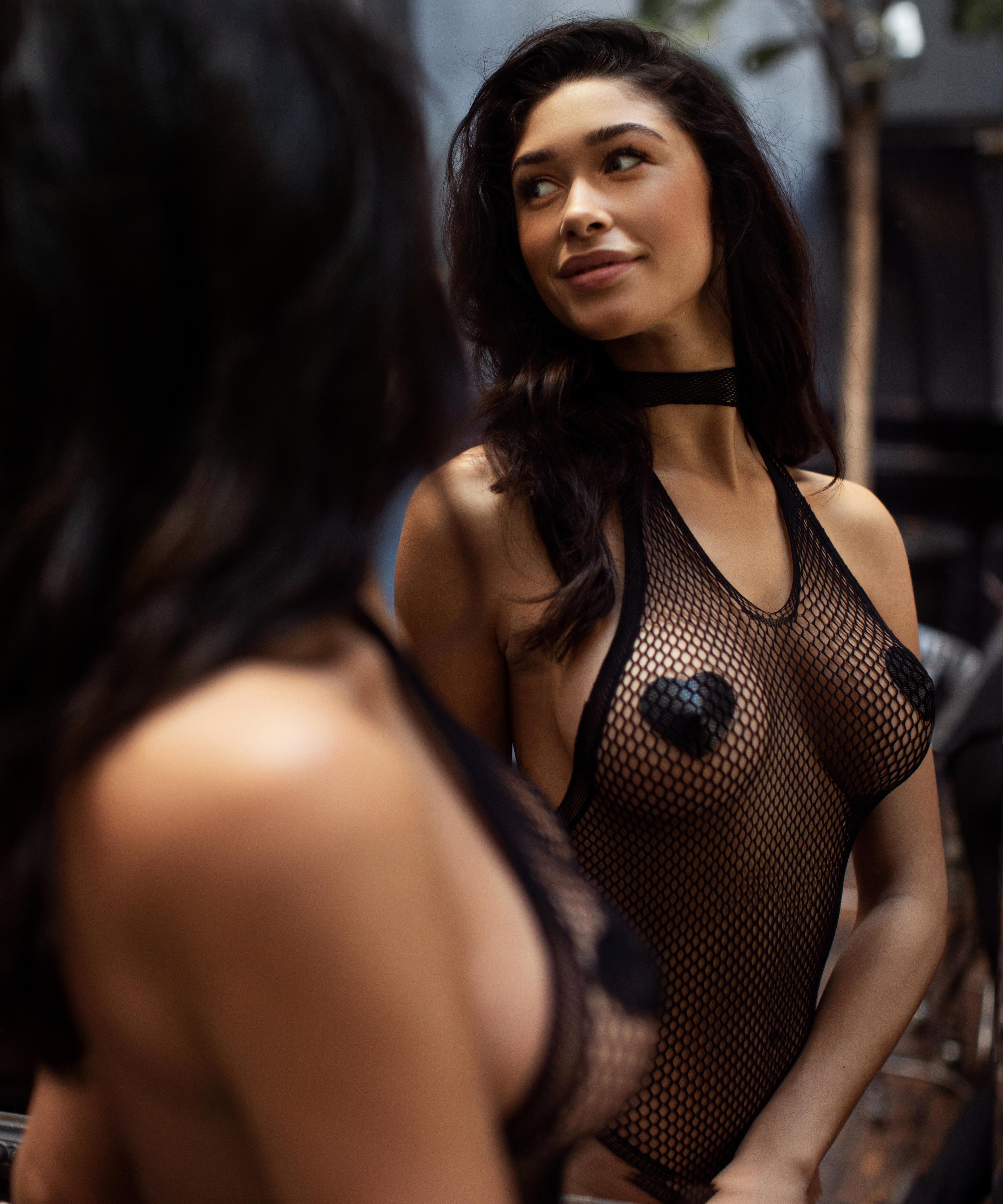Private bodysuit, Svart, main