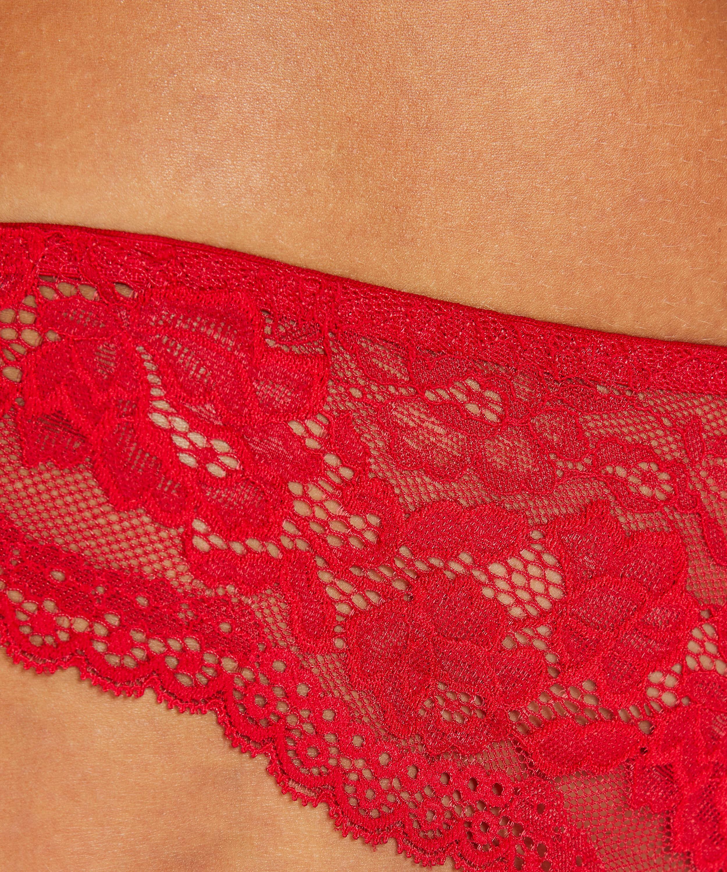 Chelsey brazilian-trosa, röd, main