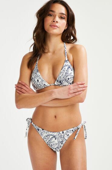 Hunkemöller Paisley brazilian-bikiniunderdel Vit