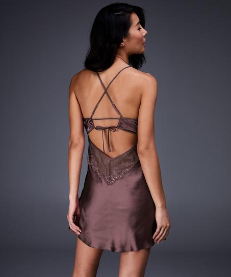 Underklänning Satin Honey, Rosa