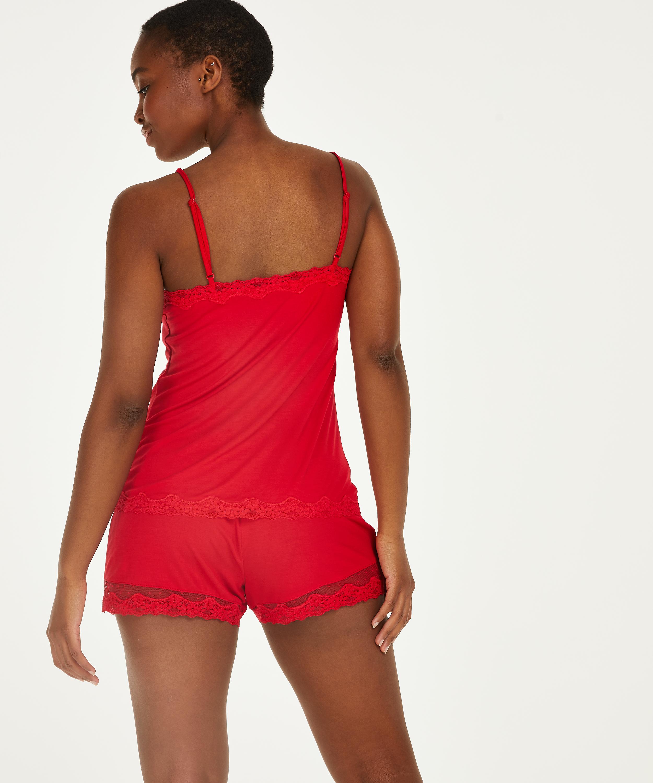 Pyjamasset, röd, main