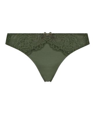 Teddy stringtrosa, grön