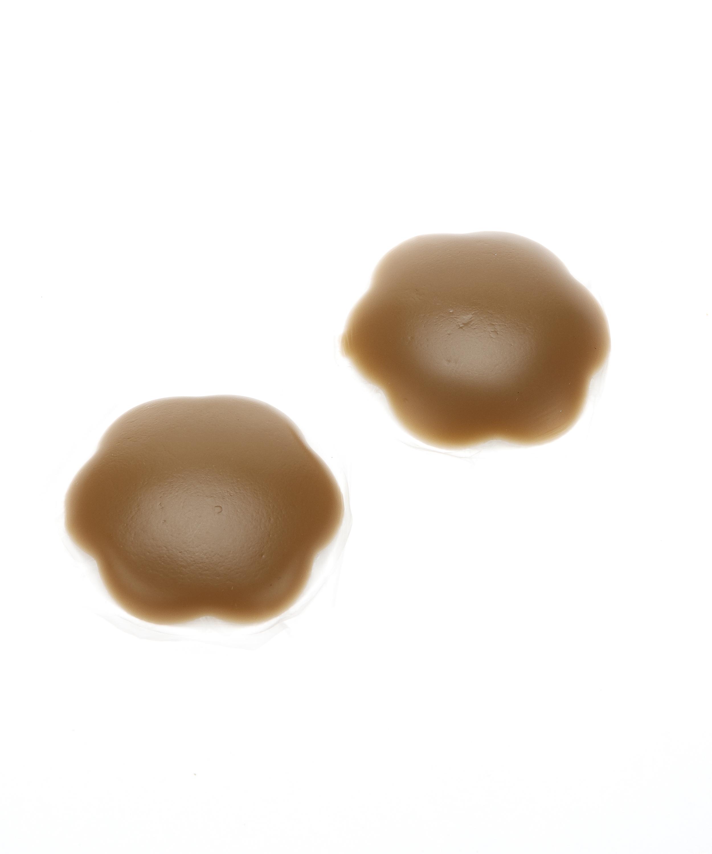 Nipple covers i silikon, Brun, main
