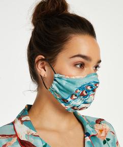 Ansiktsmask Print, blå