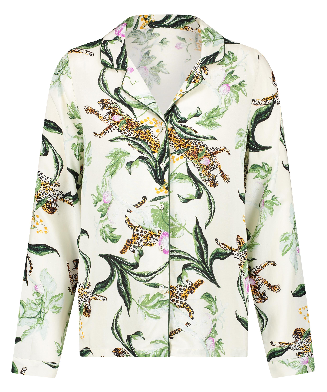Dragonfly  långärmad pyjamastopp, Rosa, main