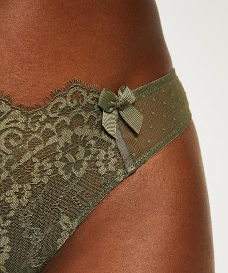 Stringtrosa Marilee, grön