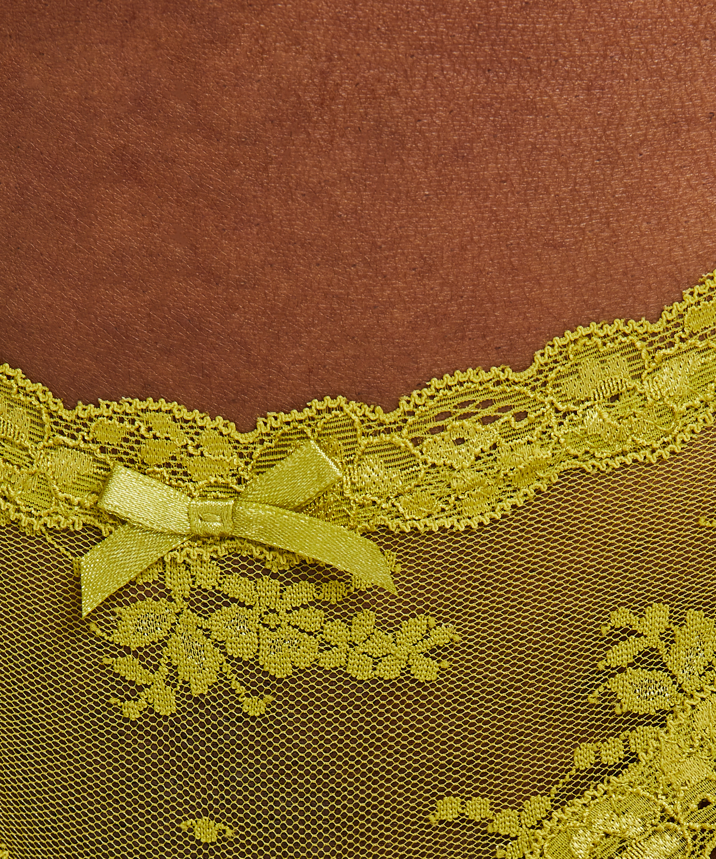 Brazilian-trosa V-shape mesh, grön, main