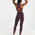 HKMX The Motion sportleggings med hög midja , Lila