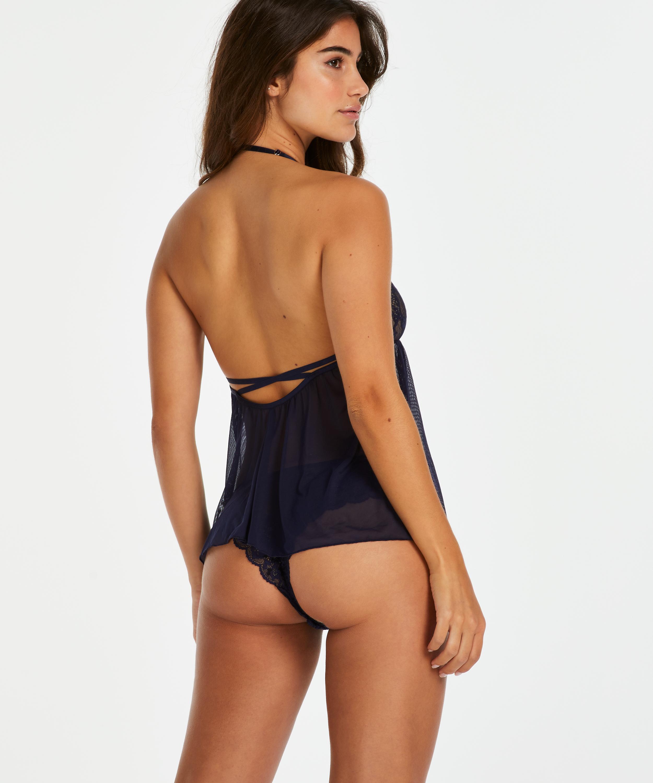 Aimee cami set, blå, main