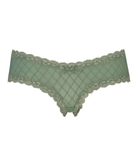 Brazilian-trosa V-shape mesh, grön