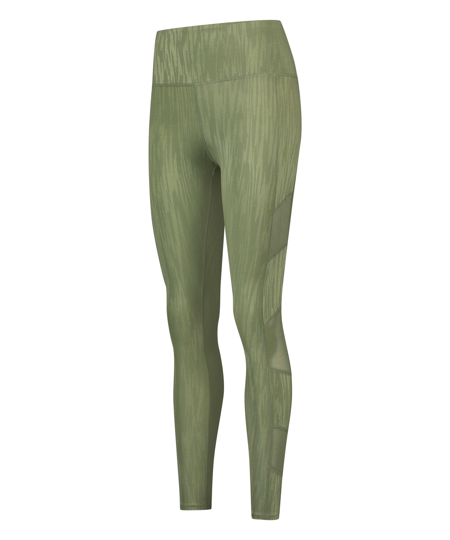 HKMX Sportlegging hög midja Mojave, grön, main