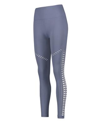 HKMX Karma sömlösa leggings med hög midja, blå