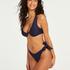 Harper icke-formpressad bikiniöverdel med bygel, blå