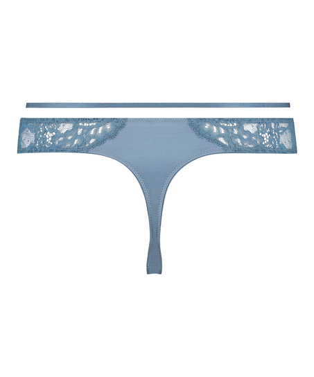Mavis stringtrosa, blå