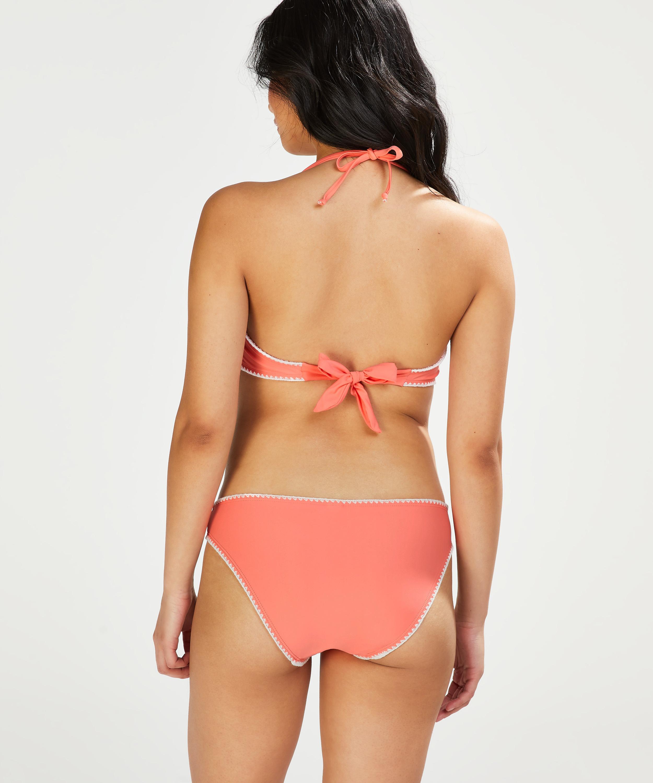 Maya formpressad bandeau-bikinitopp, Rosa, main