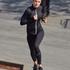 HKMX Run Baby Run tights med normal midja, Svart