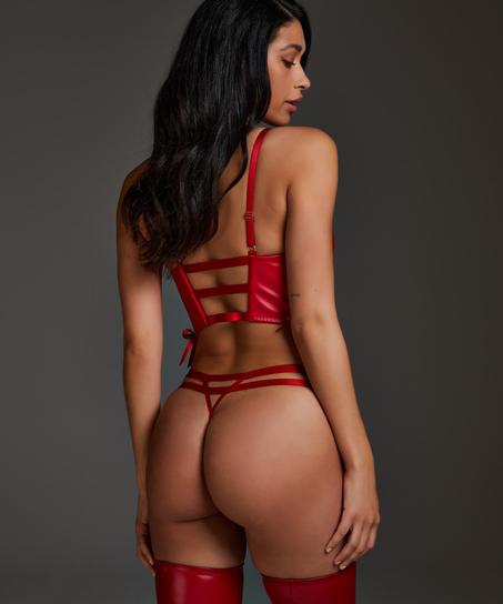 Manu stringtrosa, röd