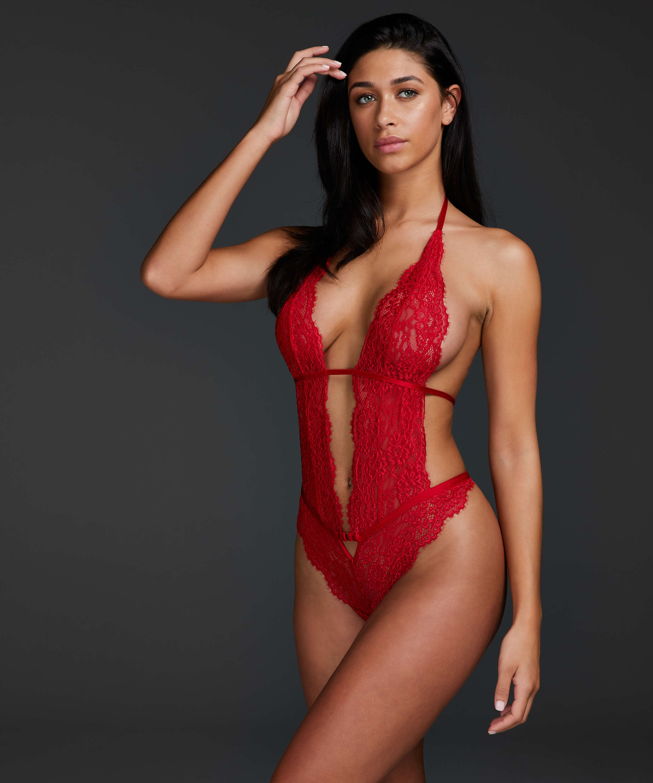 Salem body, röd, main