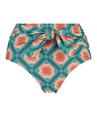Paramaribo I AM Danielle hög bikini-nederdel, Vit