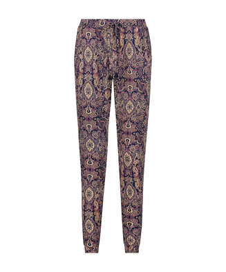 Jersey pyjamasbyxor, blå