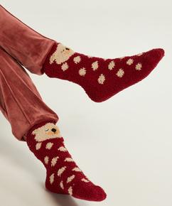 Lara Icebear Sock, röd