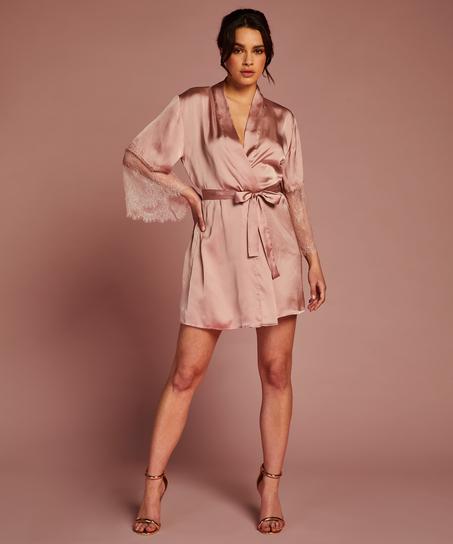 Kimono Satin Lily, Rosa